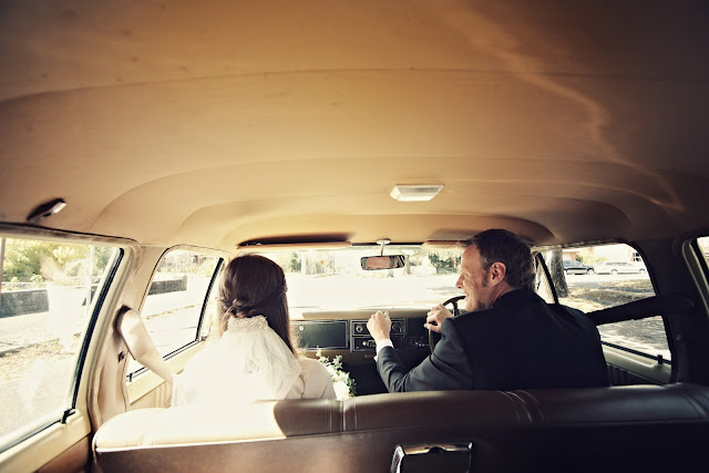 vintage car wedding kyneton