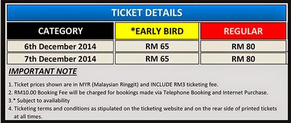 Penang International Jazz Festival Tickets