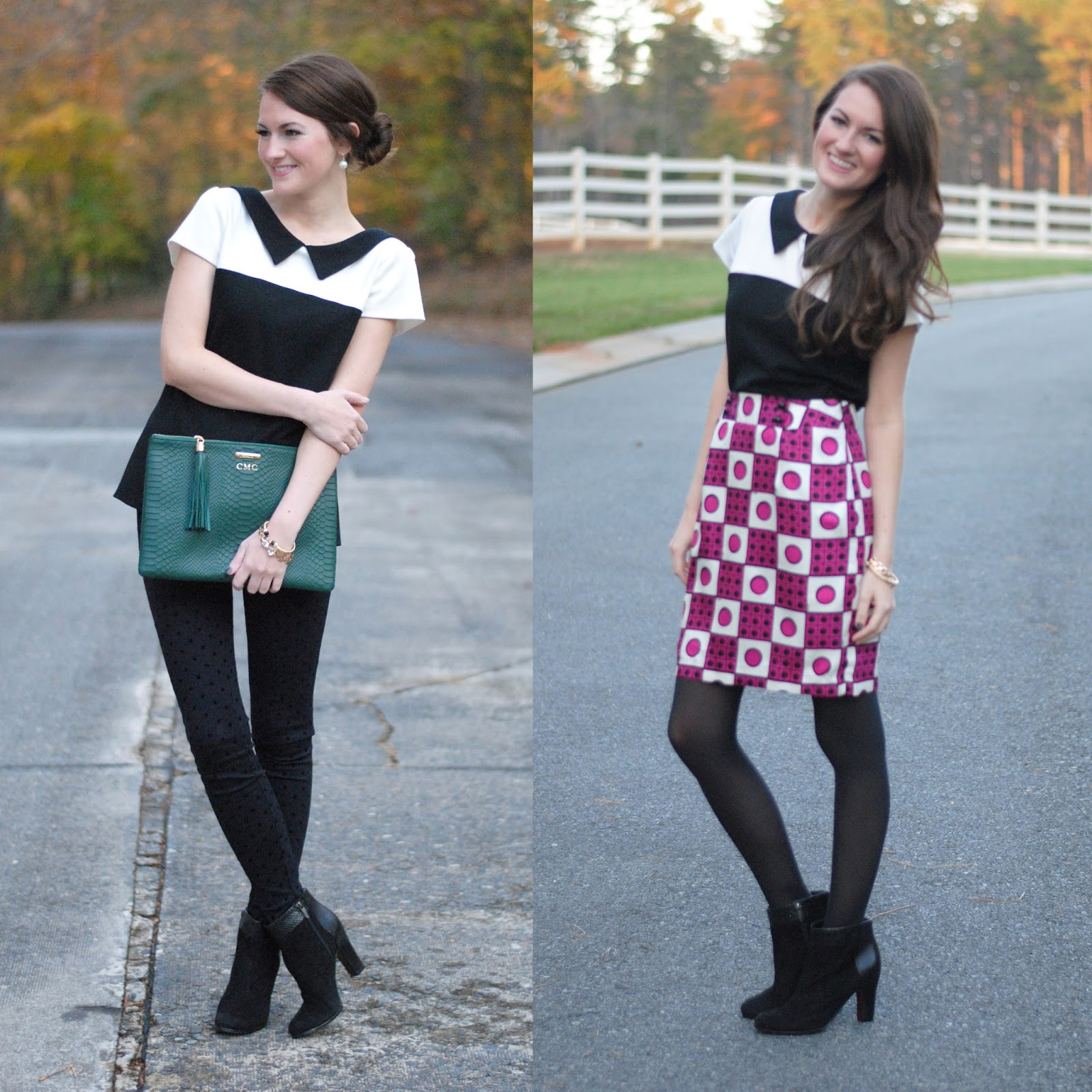 Southern Curls & Pearls e Top Two Ways