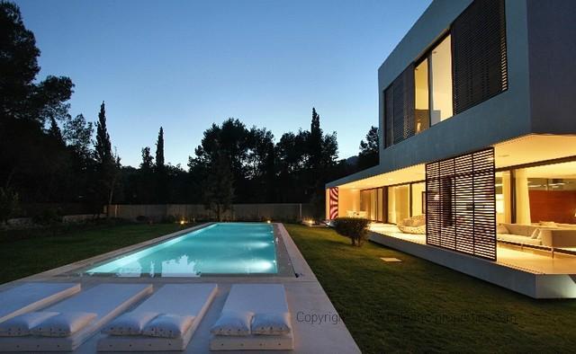 Casas Minimalistas Y Modernas Piscinas Modernas Y