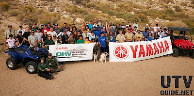 Yamaha Motor Corp., U.S.A., employees volunteered