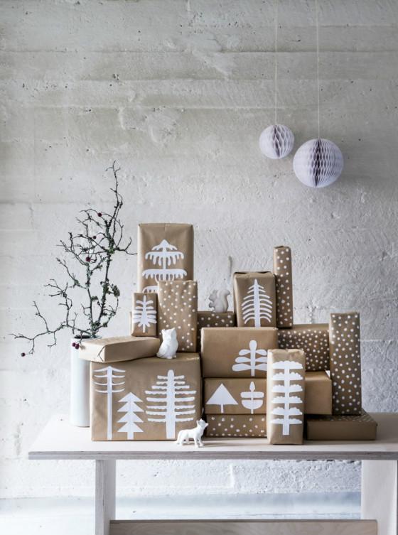 imagen_regalos_regalo_facil_envolver_ideas_sencillo_idea_papel_craft_marron_pintura_blanco_arboles_dibujo