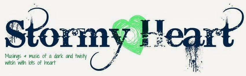Stormy Heart logo - music & musings of a dark & twisty witch with lots of heart