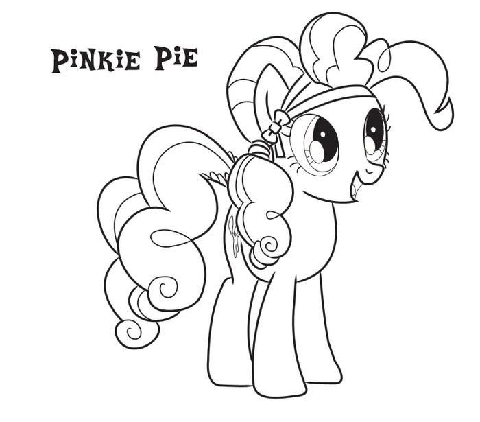imagenes my little pony para colorear. dibujos para colorear de la ...