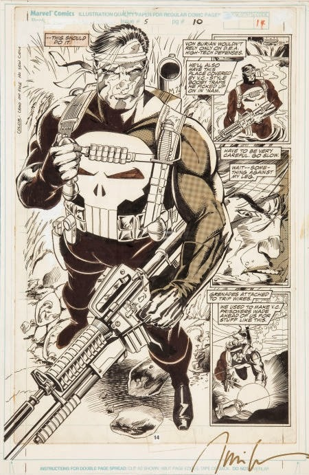 Marvel Comics of the 1980s: 1989 - Punisher War Journal #5