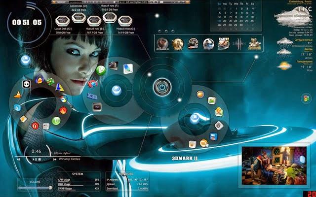 Скачать Бесплатно Темы Для Windows 7 3д - фото 5