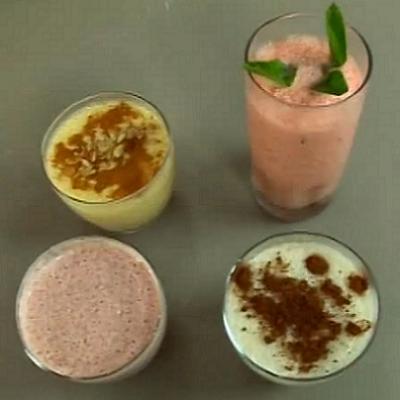 Sıcak yaz günleri için sağlıklı ve ferahlatıcı buzlu içecek tarifleri
