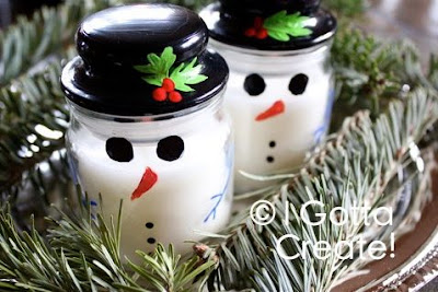 Frosty the Snowman Candles
