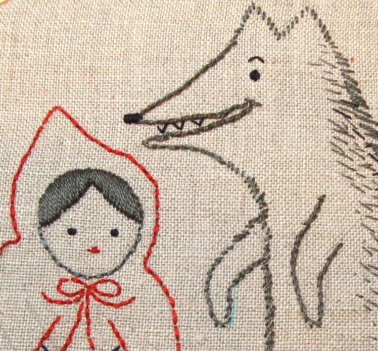 Denise Loves Art Make A Fun And Easy Hand Embroidery Wall