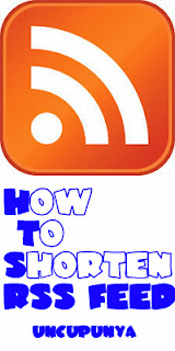 How to shorten RSS Feed