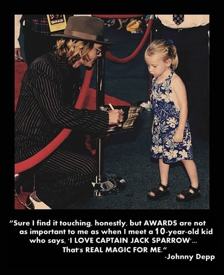Really Touching Story - Johnny Depp