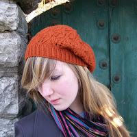 Falling Leaves Beret Front
