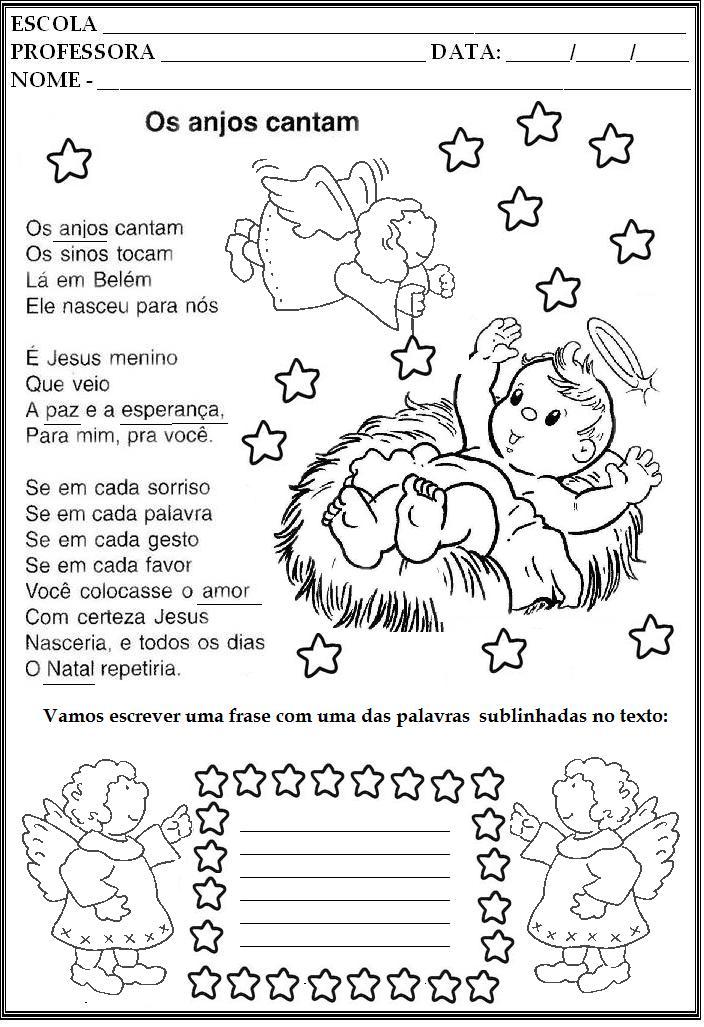 Blog jonathan cruz atividades pedag gicas para o natal for Mural sobre o natal