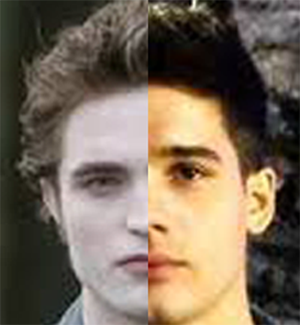 Edward Cullen dan Caleb Danvers