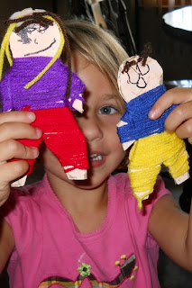 baby making toys: guatemalan worry dolls tutorial