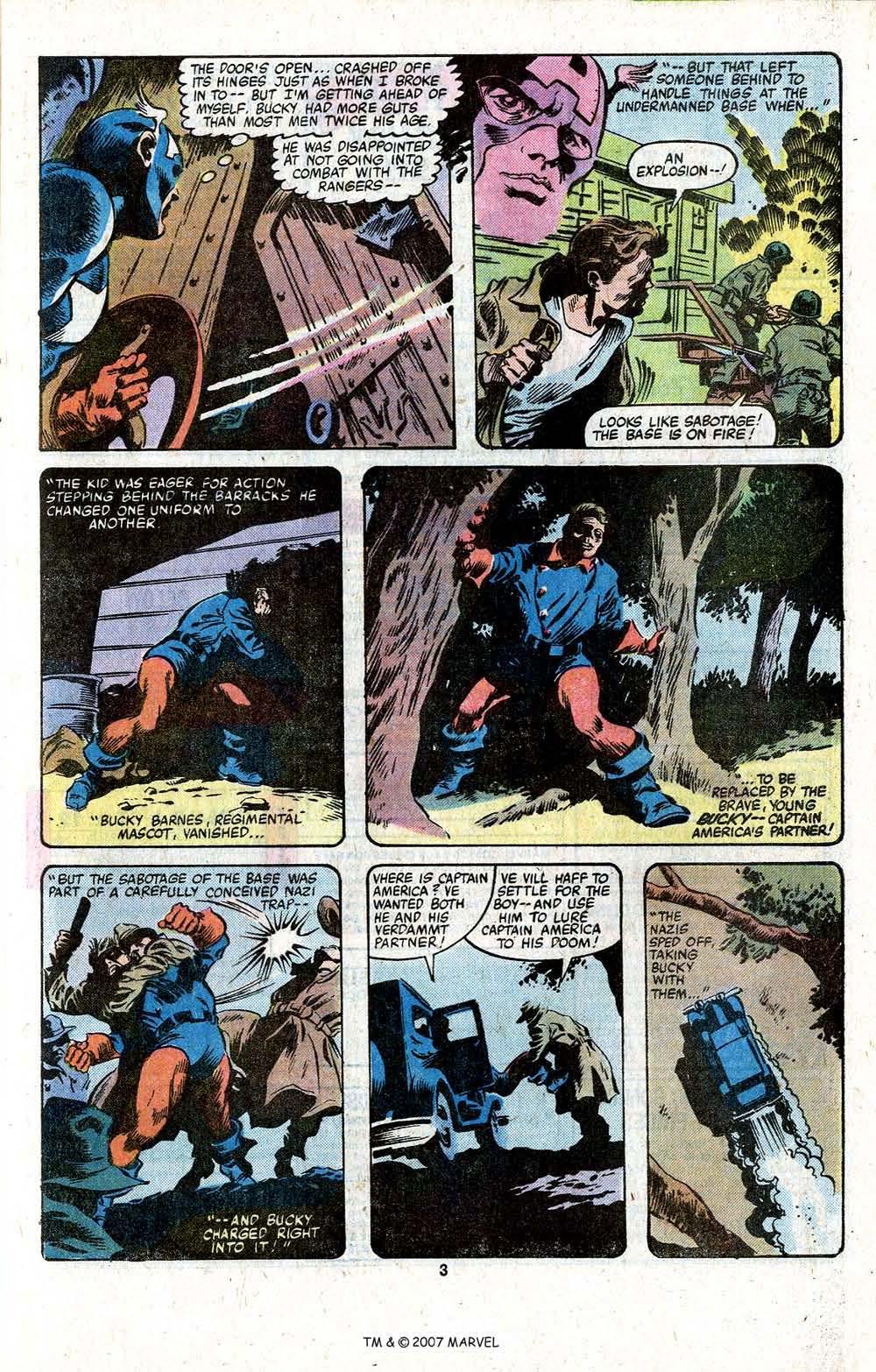 Captain America (1968) Issue #256 #171 - English 5