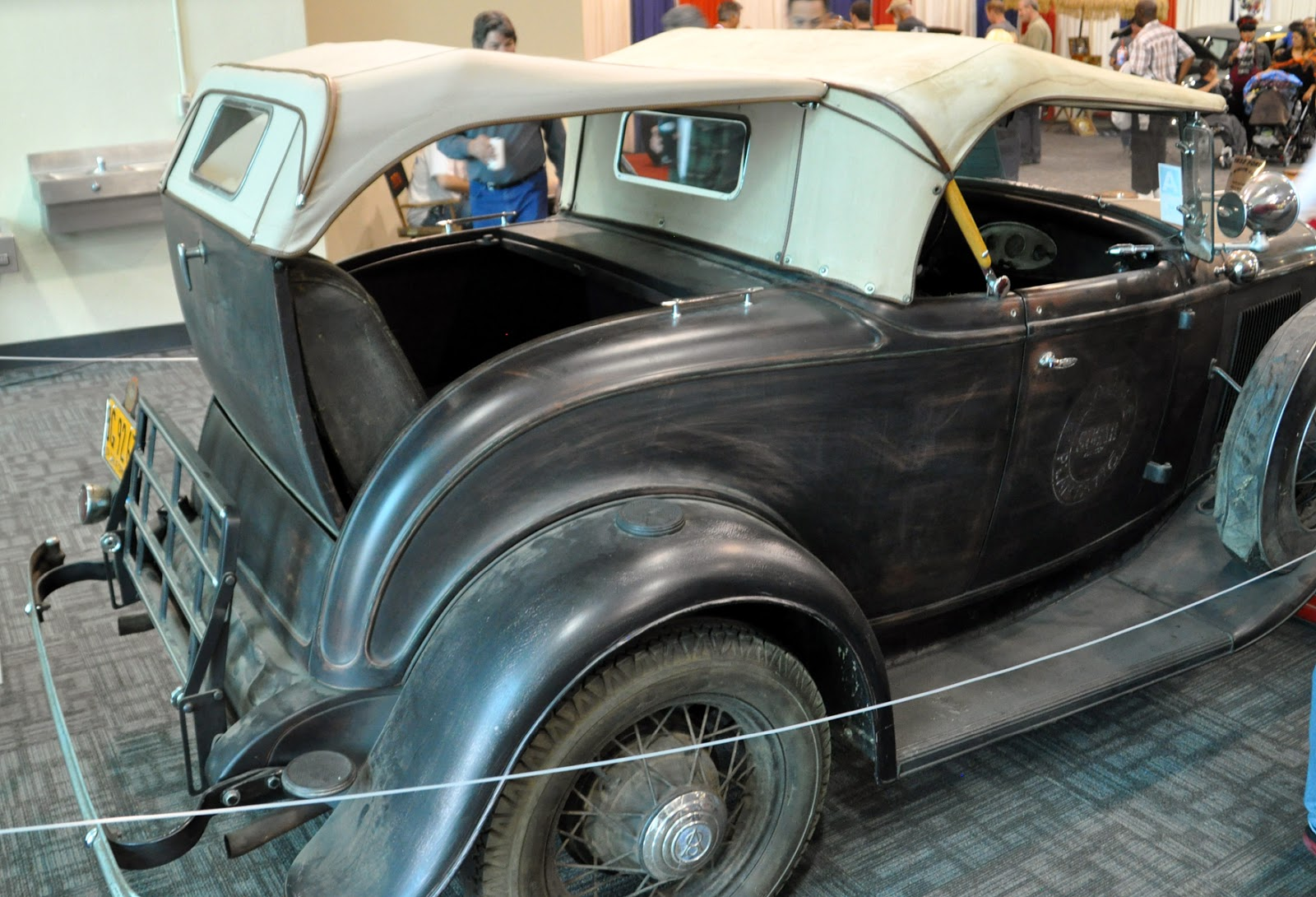 The Tux A Way Rumble Seat Top Was One Year Only Feature 1932 Car Belongs To Dave Graham