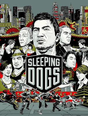 Про обложку игры Sleeping Dogs