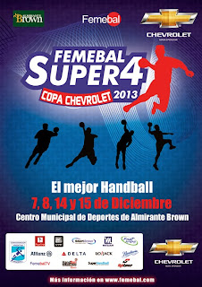 Ward gana el Super 4 Copa Chevrolet de FEMEBAL | Mundo Handball