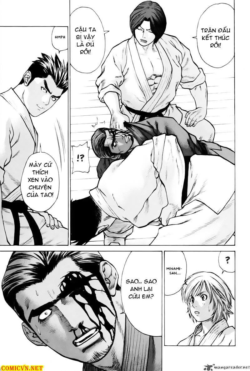 Karate Shoukoushi Kohinata Minoru chap 40 Trang 14