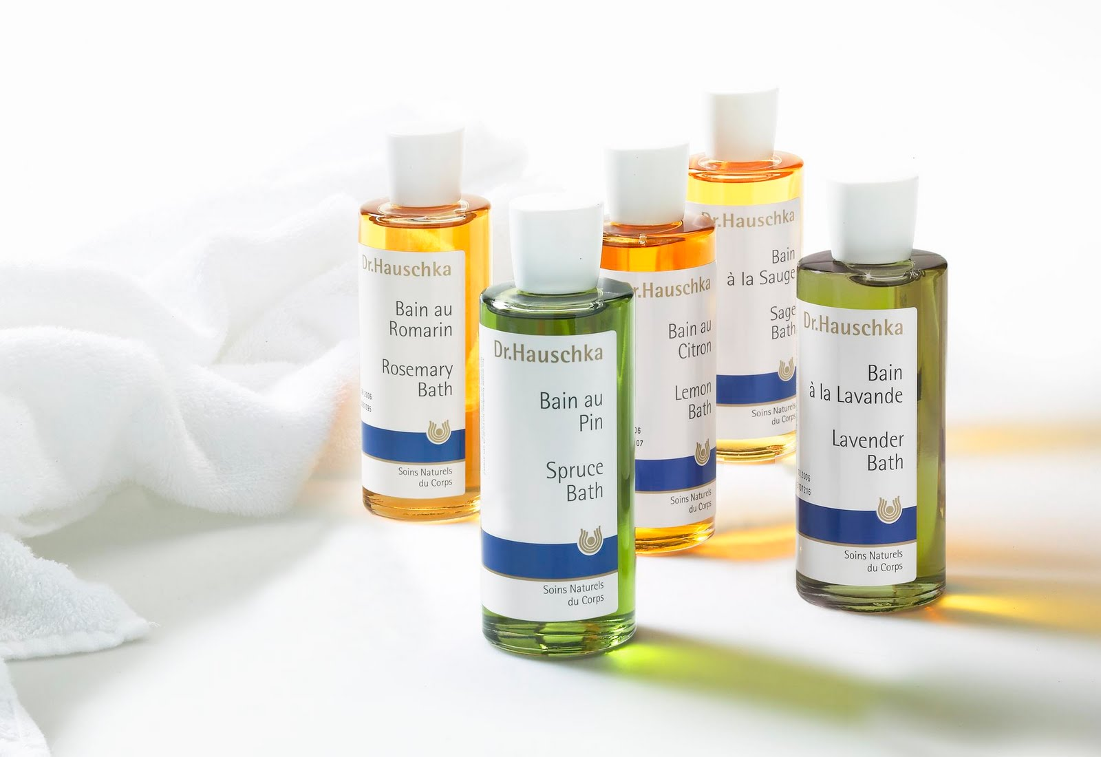 Bath Products : Dr. Hauschka and the gentle art of relaxation