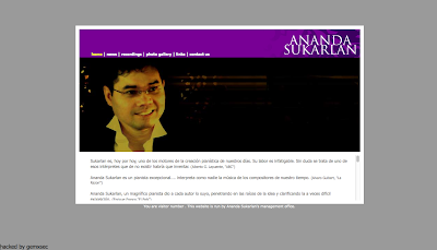 Ananda Sukarlan In Directorypax. Musical Directory for musical sites, artists, musical education...