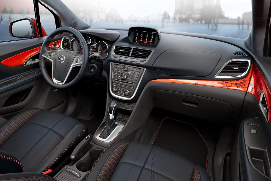opel mokka moscow edition concept autoesque. Black Bedroom Furniture Sets. Home Design Ideas