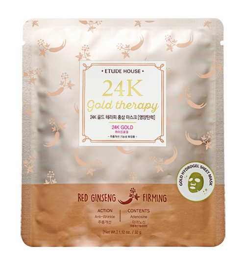 24K Gold Therapy Red Ginseng Mask