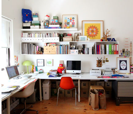 There she blogs split decision shared home office space Shared office space design