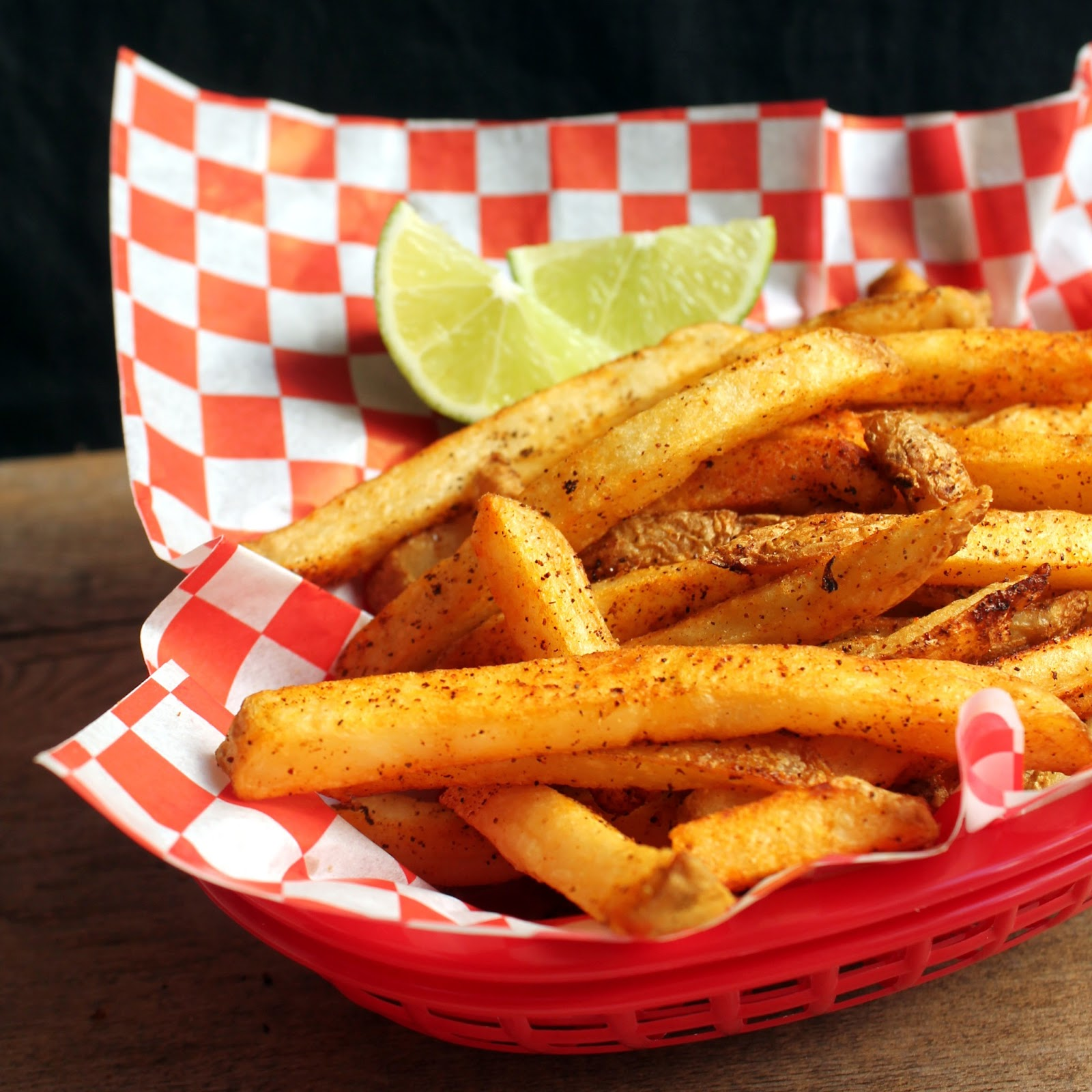 The Stay At Home Chef: Chili Lime French Fries