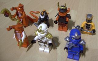 Lego Ninjago Masters of Spinjitzu figuurtjes