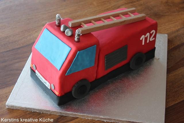 Kerstins Kreative Kuche Feuerwehr Kuchen