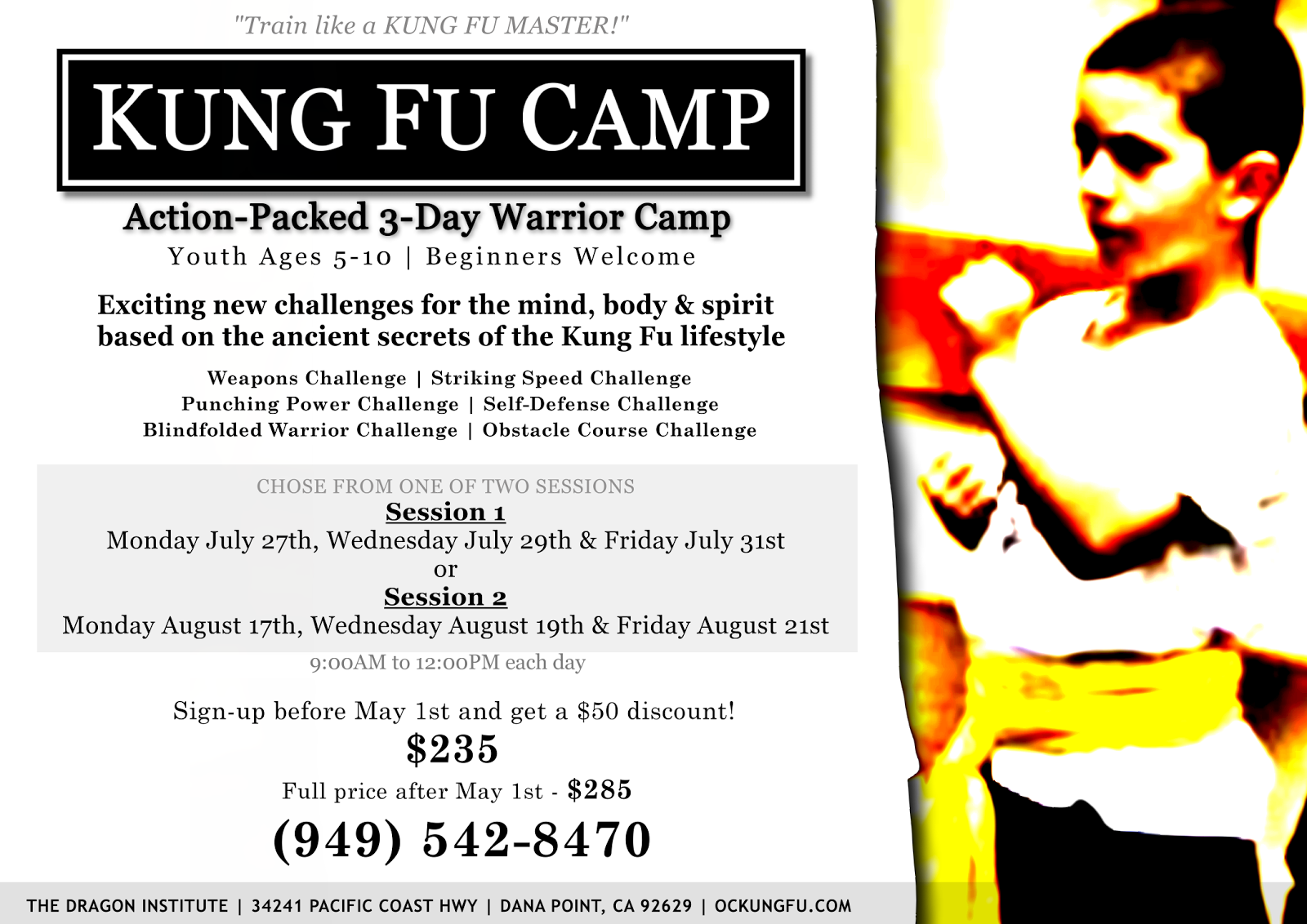 Kung Fu Camp