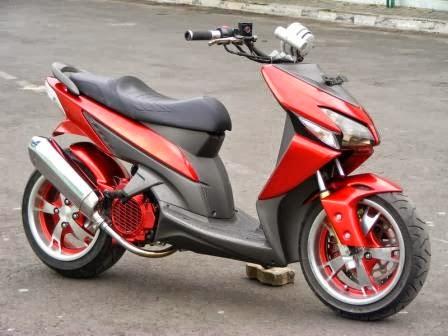 Koleksi Terkait : Simple Modifikasi Yamaha Mio LowRider - Sporty, Soul