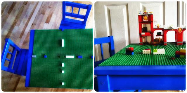 martha et moi table lego. Black Bedroom Furniture Sets. Home Design Ideas