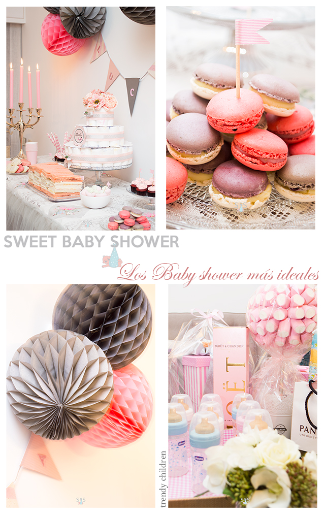 organizar baby shower trendy children