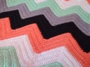 DIY Zigzag blanket