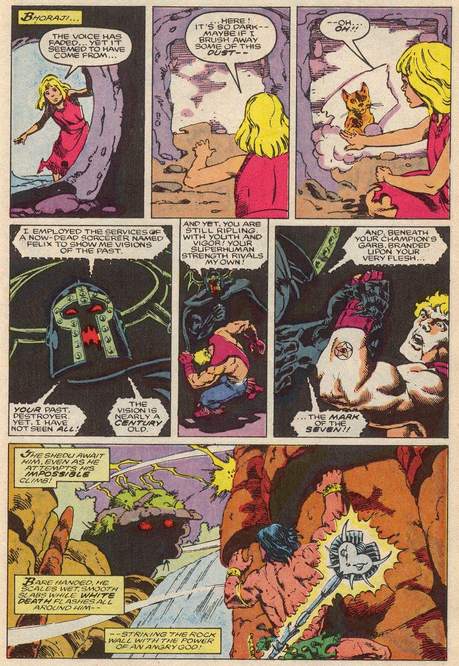 Conan the Barbarian (1970) Issue #194 #206 - English 16