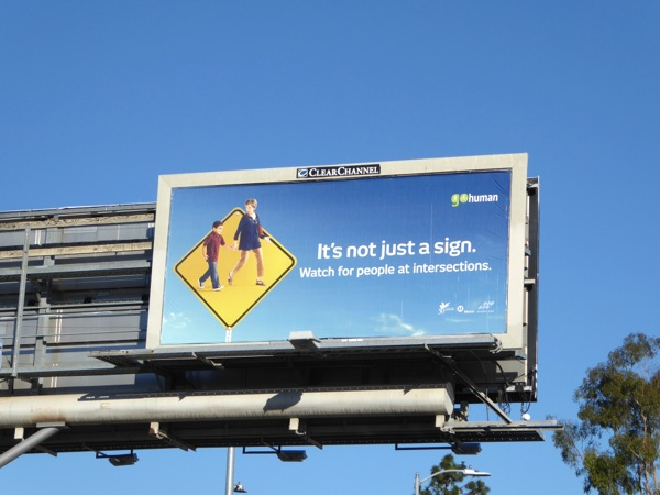 Its not just a sign road safety billboard