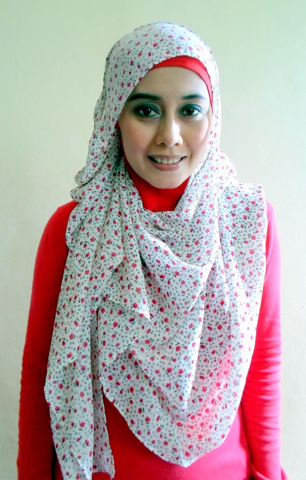 Hijabers Tutorial Sakinah : Pashmina - Chiffon #asa