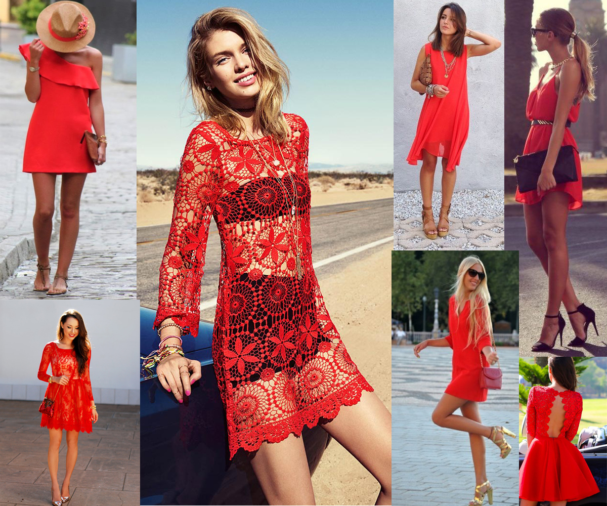 Red Dress Pinterest Inspiration