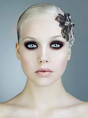 How To Apply Light Makeup For Wedding : High fashion makeup looks Jewelry Accessories World