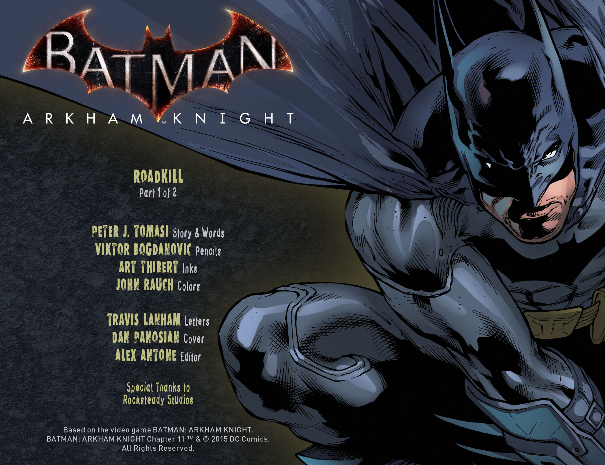 Batman: Arkham Knight [I] Issue #11 #13 - English 2