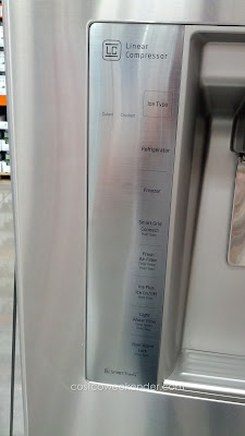 LG LFXS30766S French Door Refrigerator – 30 cu ft with space-saving ice system