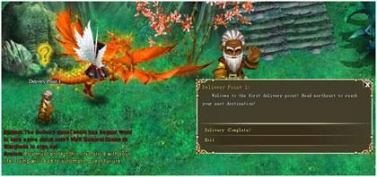 Crystal Saga Delivery Quest