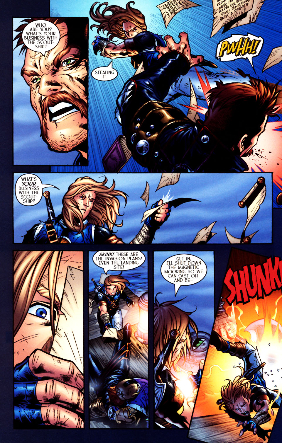 Read online Scion comic -  Issue #4 - 17