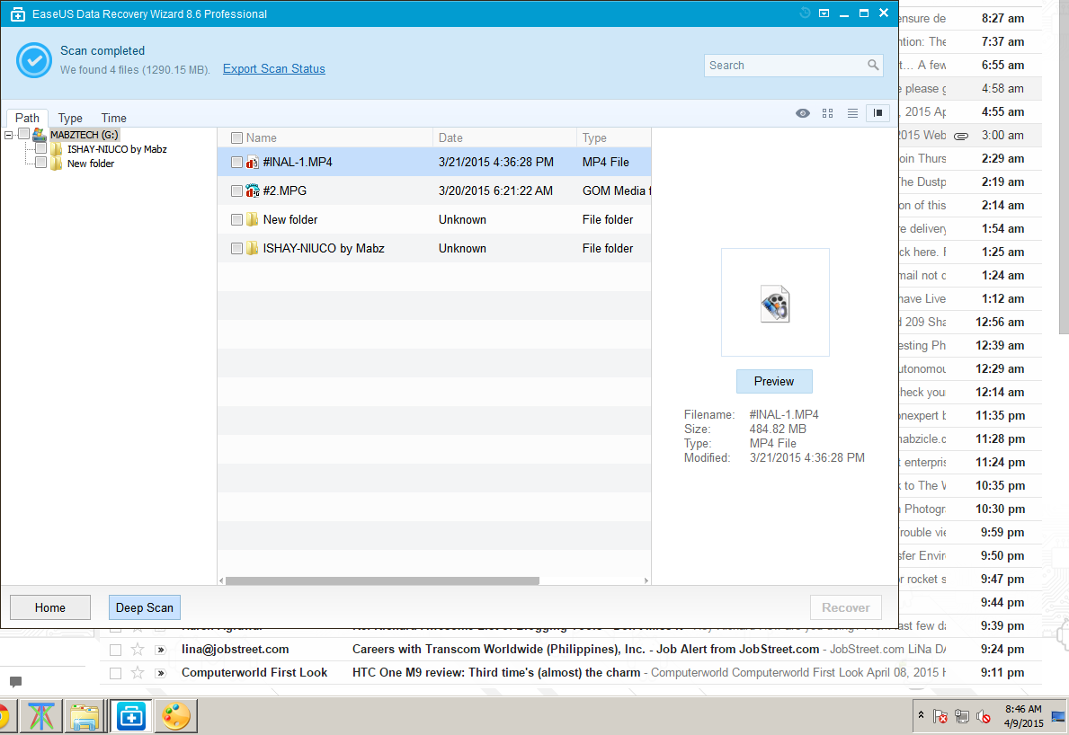 how to recover lost files on my hard drive
