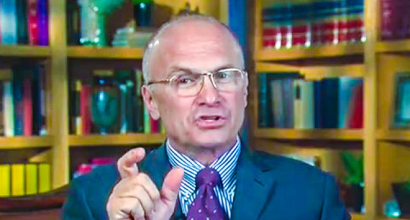 "Andy ""putz"" Puzder reads books"