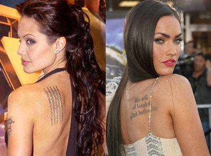 Celebrity Quotes Tattoos