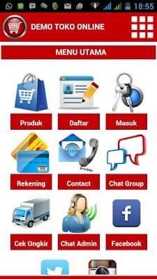 Jasa aplikasi toko online bandung